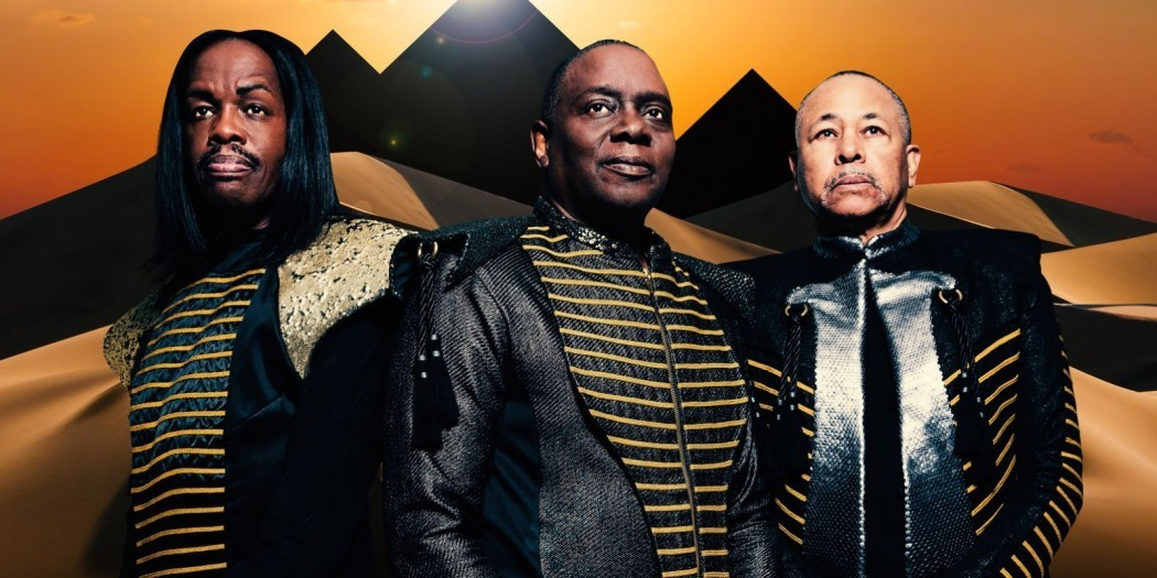 Bassist Verdine White, left, performs with Earth, Wind and Fire at Kelvingrove Park later this month