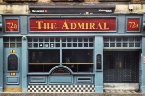 Sounds of Scotland form playlist for Simply Thrilled at The Admiral