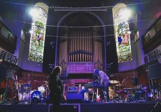 Stage at Saint Luke's