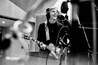 Sir Paul McCartney in the studio (Twitter)
