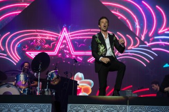 THE KILLERS - TRNSMT HEADLINER 1 - CREDIT ROB LOUD