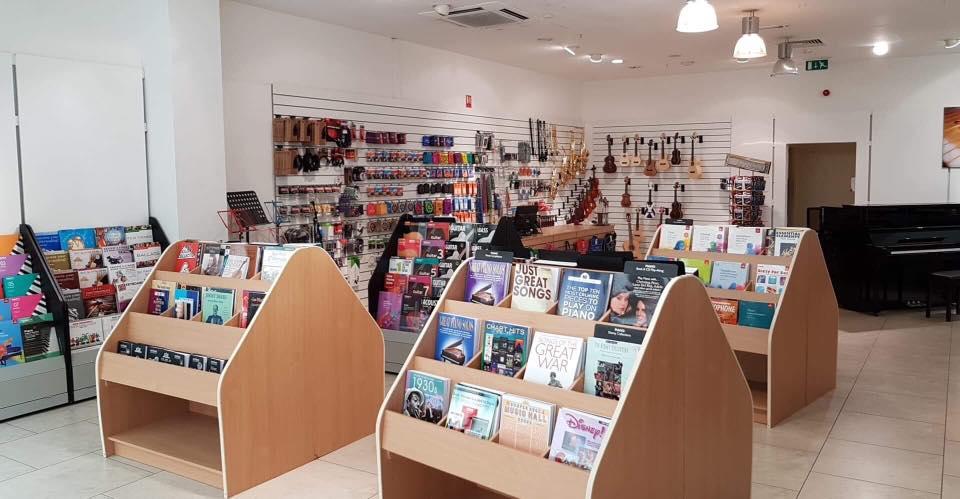 The original Biggar Music store