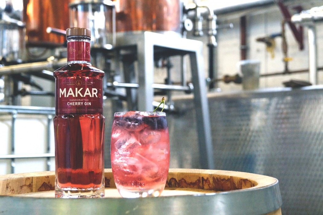 Glasgow Distillery - Makar Cherry Image