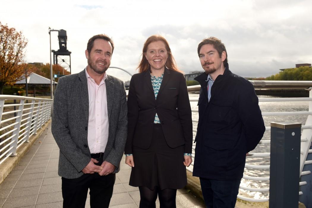 Craig Martin,Chair,Glasgow Welcomes ; Celia Hague,Motel One,Area General Manager,Scotland ; Peter McKenna,Chef/Co-Owner,The Gannet Restaurant ,Finnieston