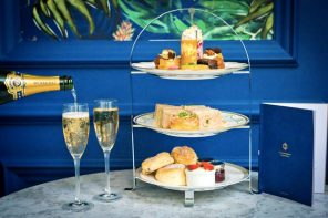 Festive Afternoon Tea launches at Champagne Central