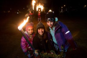 St Andrew's Day West End Torchlight Parade takes place this Friday